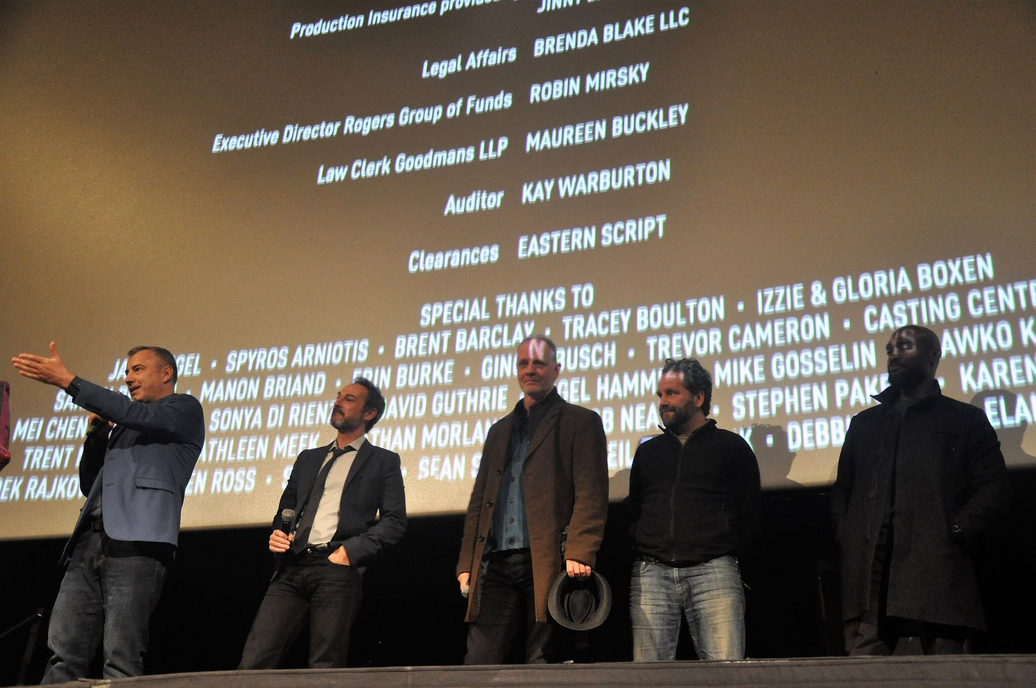 22 Chaser Director Rafal Sokolowski and Screenplay writer Jeremy Boxen alongside other Cast & Crew Members